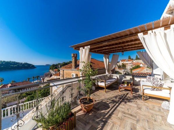 Dubrovnik-Cavtat magic sunset Villa with pool